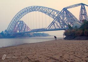 Lansdowne Bridge Rohri by fahadee