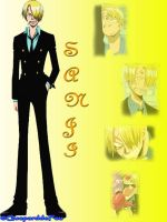 Montage of Sanji by GueparddeFeu