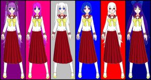 T.O.M.'s Harem Girls - Lobelia Uniform by ian2x4