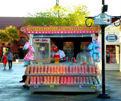 Candy(floss) Man by annieheart12
