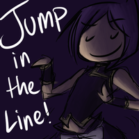 Jump in the Line by Jannelle-sama