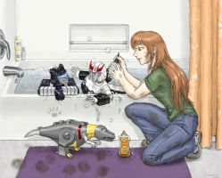 TF: Small Problems Bathtime by Zanne