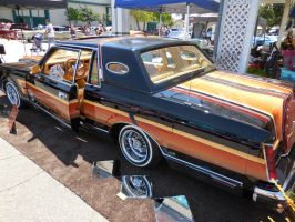 Black Lincoln Continental  Lowrider by Jetster1