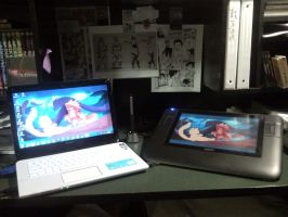 MY lil work space by phation
