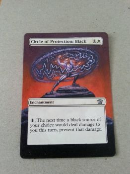 Circle of Protection: Black - Full Art Extension by BlacklightOfDawn