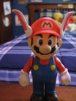 Rabbit Ears for Mario Figure by Demetrax1