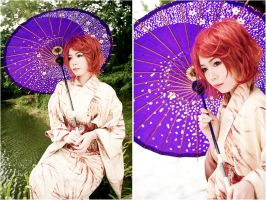Lady in Kimono by Animaidens