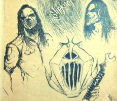 Mick Thomson by PAIN--addict