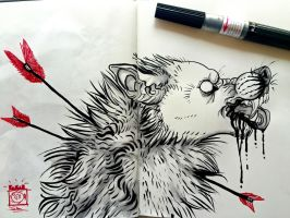 Inktober #2 and 3 by Shincovi