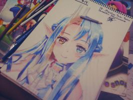 work in progress asuna by marcell240298