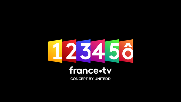France Televisions' Channels Rebrand Concept by Unitedd
