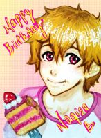 HBD Nagisa-kun by timii95