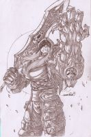 Darksider's War (pencils) by emmshin