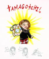 tamagotchi by laerry