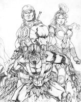 Masters of the Universe - sample #02 by MarcFerreira