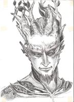 Sylvari face by Domee