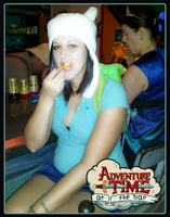 Adventure Time Fionna at the Bar by Chylde