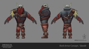 Bandit Armor Concept by slipled