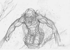 Weapon X:pencil by shiprock