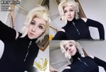 Improved Mercy wig by Gekroent