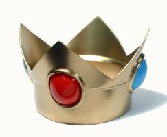 Princess Peach Crown by PerfectTommyAutomail