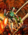 Boba Fett's Escape by Twynsunz