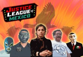 Justice League of Mexico by 3D4D