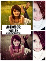 Action Fallen by WakeUpWithoutYou