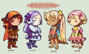 Adoptables (OPEN) 2015 by Lumaga