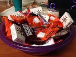 Sweet Treats Halloween Bowl by The-Scribbly-Fairy