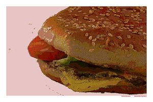 cheeseburger by ChaelMontgomery