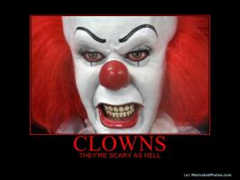 CLOWNS ARE SCARY AS HELL by FUTURELISA1