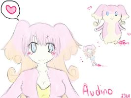 Audino love by NyAppyMiku22