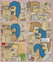 Homer And Marge-Lisas Birth P1 by ChnProd22