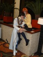 Shirley Fenette and Lelouch by WereDragonMan