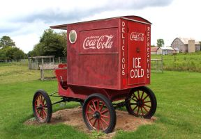 Coke Wagon by boogster11