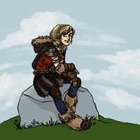 Astrid by LilyScribbles