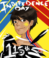 Philippine Independence Day by checheburecheh