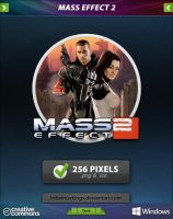 Mass Effect 2 Icon by tRiBaLmArKiNgS