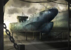 Ship Wreck by DayNightHour