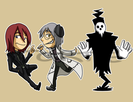 Stickers: Soul Eater 3 by forte-girl7