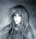 Snowing by Oviot