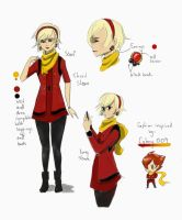 Anime Fashion: Cyborg 009 by DinglePepper