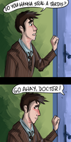 Do you wanna steal a TARDIS? by Fonora
