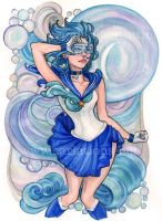 Sailor Mercury by CARLATIONS