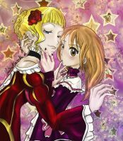 Comision - Maria x Beatrice by kasscabel