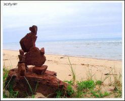 Wistful Seaward Gazing by sculptin