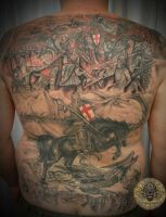 War Battle History finished by 2Face-Tattoo