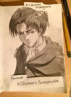 Levi Sketch by GZ-Iconic-Ent