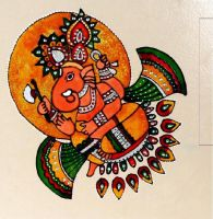 Tile Art Indian by Vermillioned
